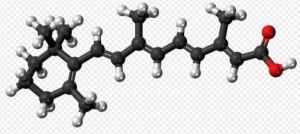 Molecula de acido retinoico