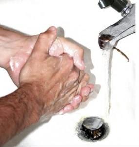 Higiene para las espinillas