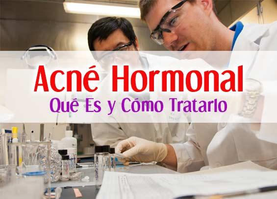 acne hormonal
