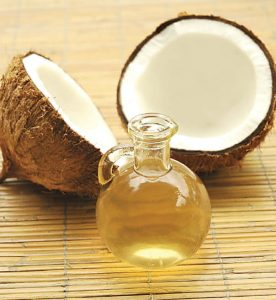 Aceite de Coco para cicatrices de acne